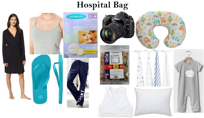 Hospital Bag for Mom and Baby