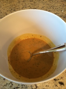 Honey mustard chicken glaze